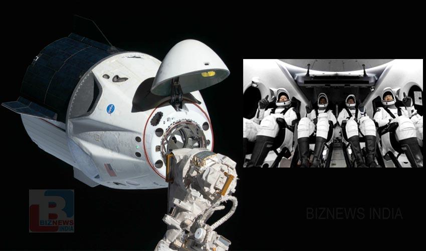 SpaceX ന്റെ Dragon2 പേടകം ബഹിരാകാശ നിലയത്തിലെത്തി